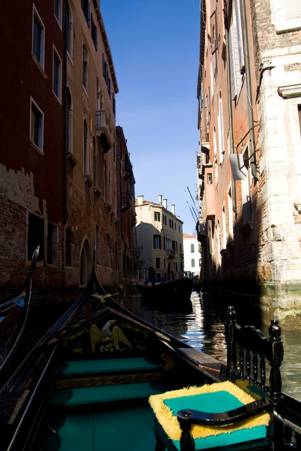 My gondola and Venice